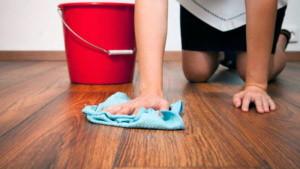 отмыть ламинат