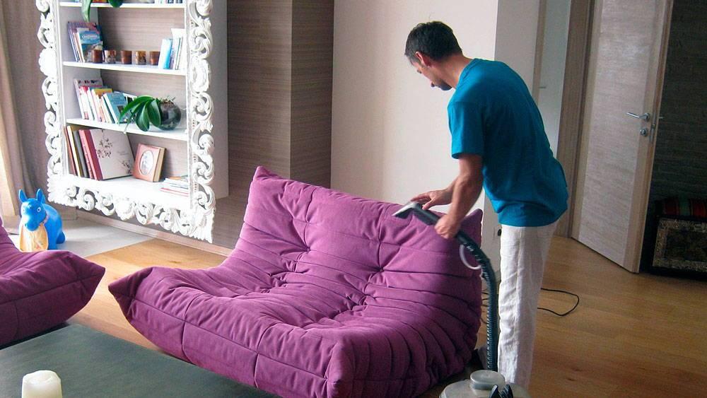 Химчистка диванов и другой мягкой мебели на дому