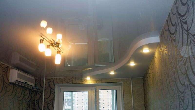 Помыть натяжной потолок