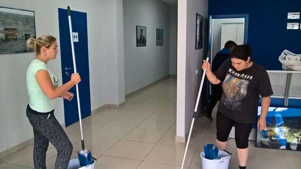 Уборка офисов
