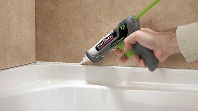 Как убрать плесень в ванной на герметике и швах